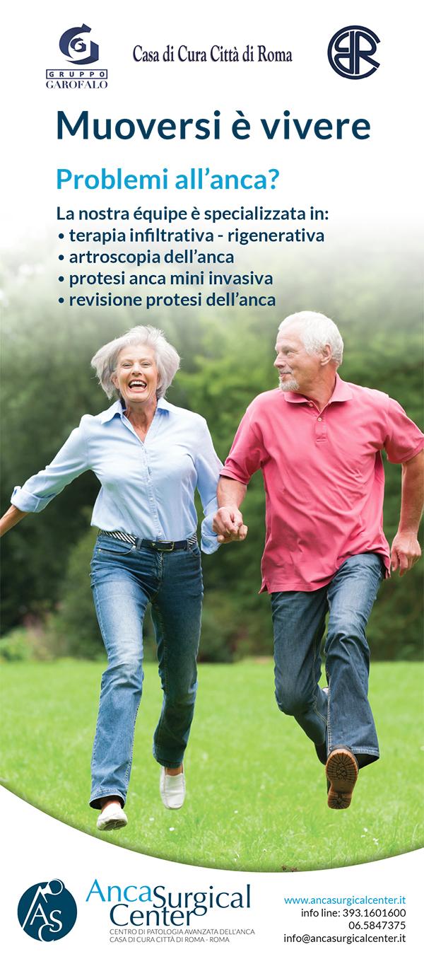 A Roma nasce Anca Surgical Center, il primo centro dedicato alla cura delle patologie dell'anca